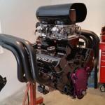 race boat engine